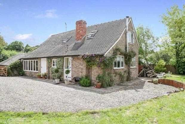 Thumbnail Detached house for sale in The Shoulder Of Mutton, Clee St. Margaret, Craven Arms