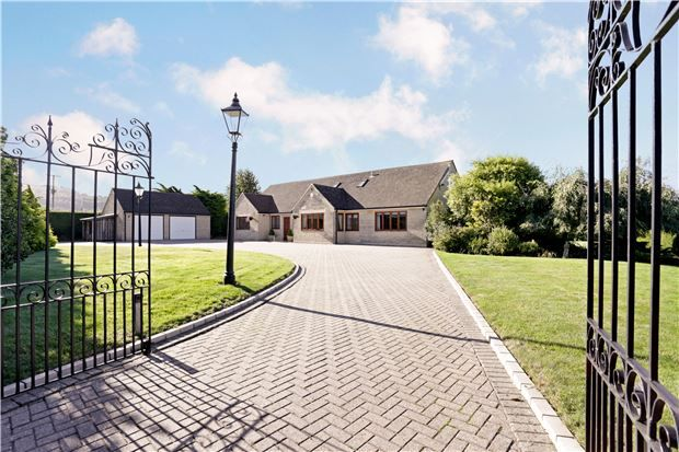 Thumbnail Detached house for sale in Bentham Lane, Bentham, Cheltenham, Glos
