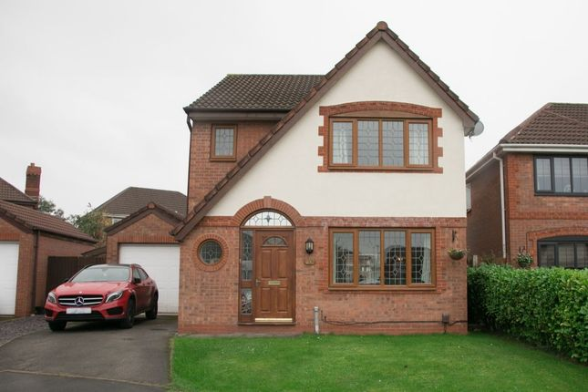 Thumbnail Detached house for sale in Millcombe Way, Walton-Le-Dale, Preston