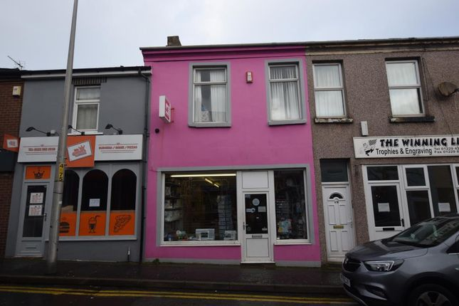 Thumbnail Retail premises for sale in Crellin Street, Barrow-In-Furness