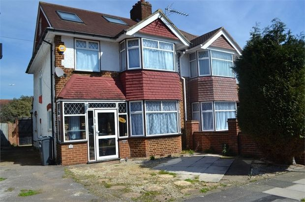 Thumbnail Semi-detached house to rent in Park Road, Hounslow, Greater London