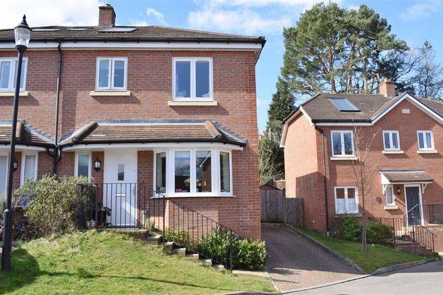 Thumbnail Semi-detached house for sale in Blackthorn Close, Farnham, Surrey