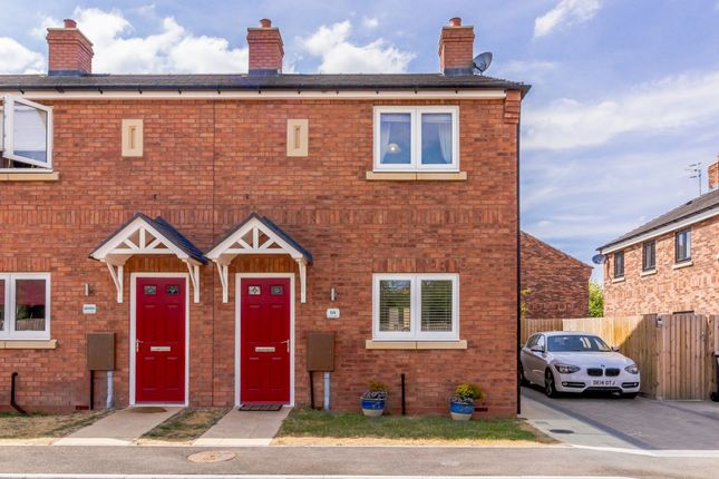 Thumbnail End terrace house for sale in Damson Close, Stratford-Upon-Avon, Warwickshire