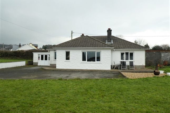Thumbnail Bungalow for sale in Capel Iwan, Newcastle Emlyn