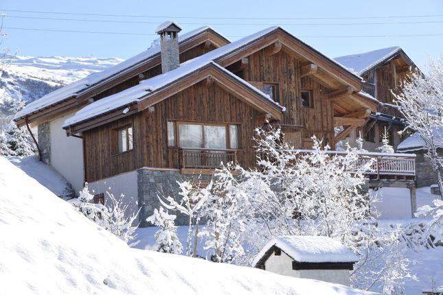 Exterior of Saint Martin De Belleville, Savoie, France