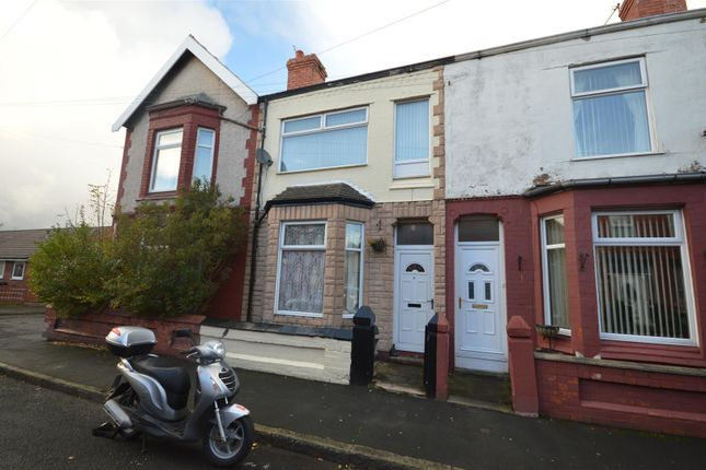 Thumbnail Terraced house to rent in Cecil Road, New Ferry, Wirral