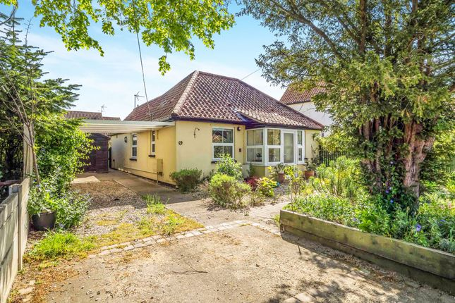 Thumbnail Detached bungalow for sale in Cley Road, Holt