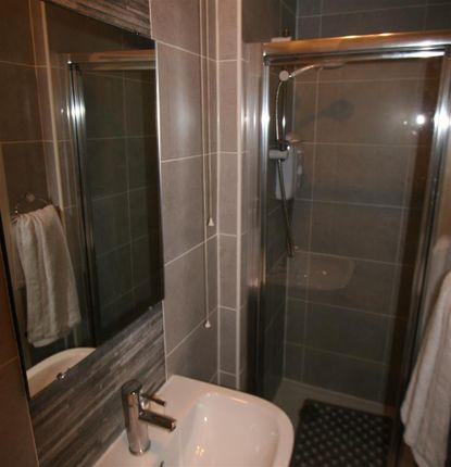 Shower Room of Main Door Flat, 2 Barend Street, Millport, Isle Of Cumbrae KA28