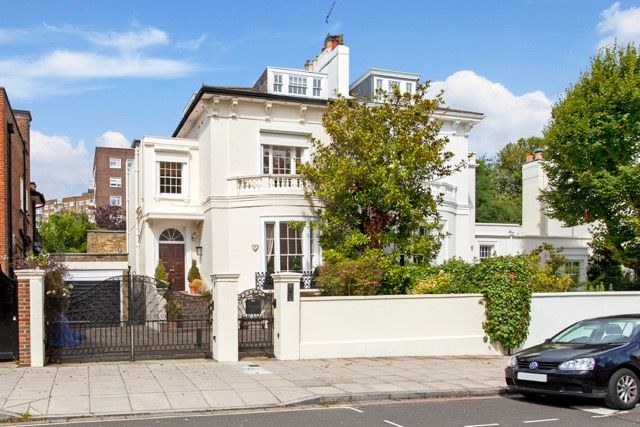 Thumbnail Semi-detached house to rent in Queens Grove, St Johns Wood