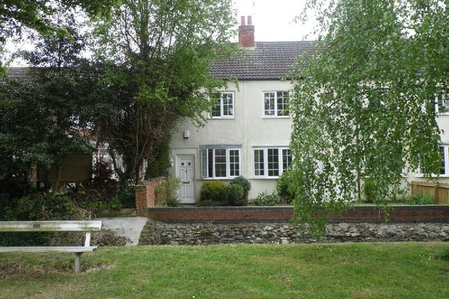 Thumbnail End terrace house to rent in Brook Street, Walcote, Lutterworth