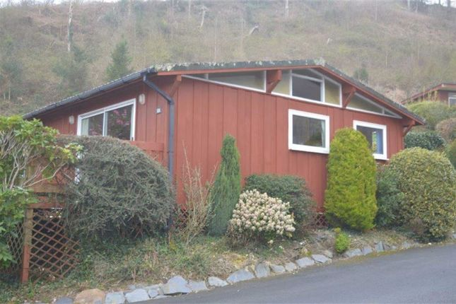Thumbnail Detached bungalow for sale in Chalet 6, Aberdovey Lodge Park, Aberdovey