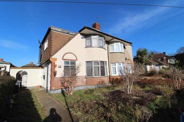 Thumbnail Semi-detached house for sale in Staines Road, Bedfont