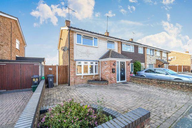 Thumbnail End terrace house for sale in Heywood Way, Heybridge, Maldon
