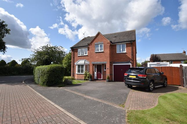 4 bed detached house for sale in Ralph Close, Loughborough