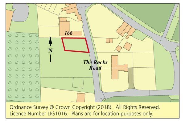 Thumbnail Land for sale in Land Adj. 166 The Rocks Road, East Malling, Kent