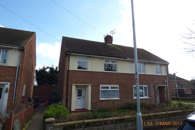 Thumbnail Semi-detached house to rent in Northgate, Lowestoft