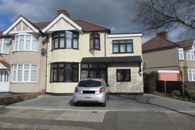 Thumbnail Semi-detached house for sale in Havering Gardens, Chadwell Heath, Romford