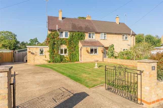 3 bed semi-detached house for sale in Beech Close, Little Shelford, Cambridge CB22