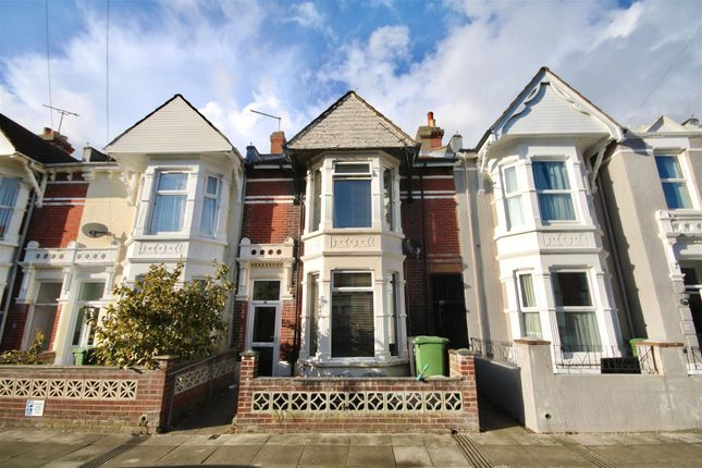 Thumbnail Terraced house to rent in Wadham Road, Portsmouth
