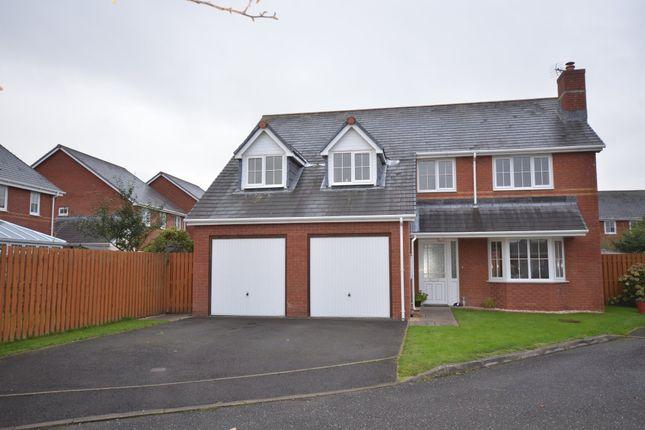Thumbnail Detached house for sale in Clos Dafydd, Llanbadarn Fawr, Aberystwyth