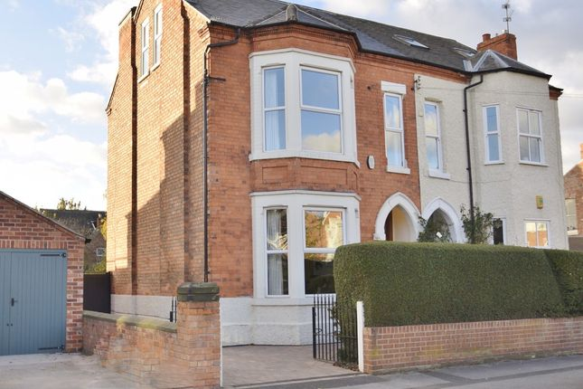 Thumbnail Semi-detached house for sale in William Road, West Bridgford