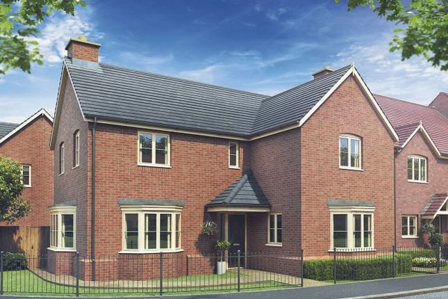 Thumbnail Detached house for sale in Main Road, Hallow
