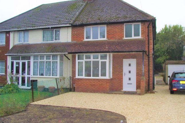 Thumbnail Semi-detached house to rent in Stratford Road, Ash Vale, Aldershot