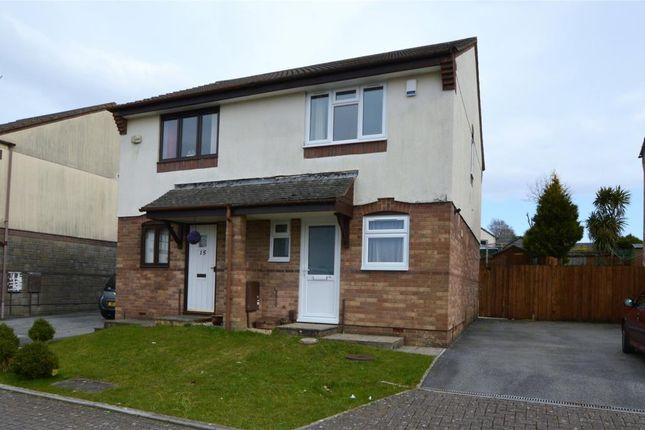 Thumbnail Semi-detached house to rent in Larch Close, Latchbrook, Saltash, Cornwall