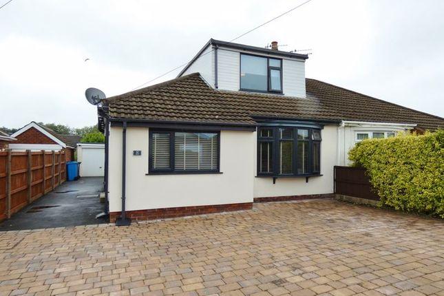 Thumbnail Semi-detached bungalow for sale in Rydal Avenue, Freckleton, Preston