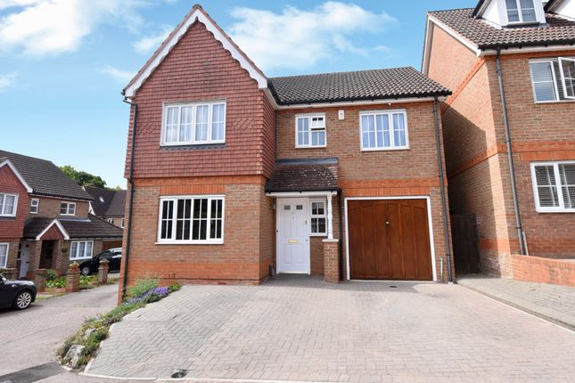 Thumbnail Detached house for sale in Mount Keen, Stevenage