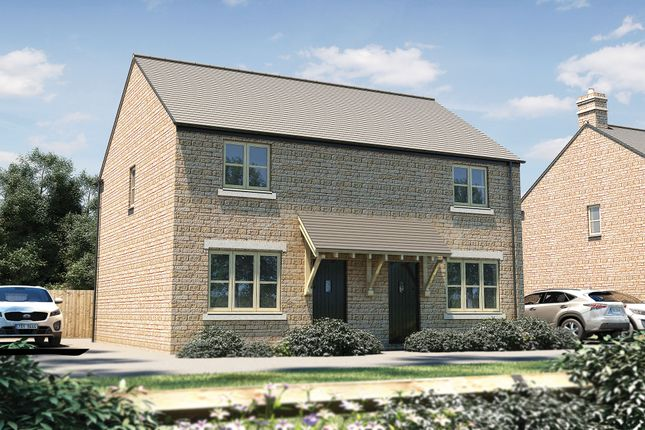 """Thumbnail Semi-detached house for sale in """"The Hindhead"""" at Witney Road, Kingston Bagpuize, Abingdon"""