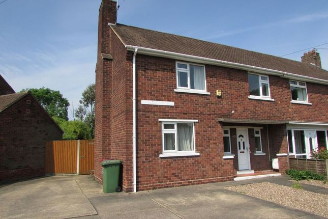 Thumbnail Semi-detached house for sale in Lincoln Gardens, Scunthorpe