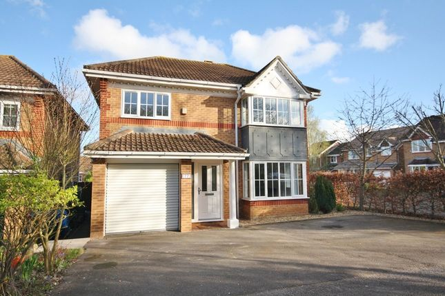 Thumbnail Detached house for sale in Suffolk Drive, Whiteley, Fareham