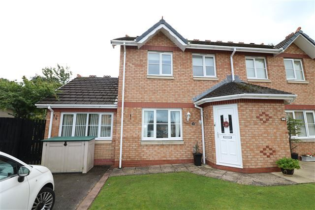 Thumbnail Semi-detached house for sale in Larch Drive, Stanwix, Carlisle, Cumbria