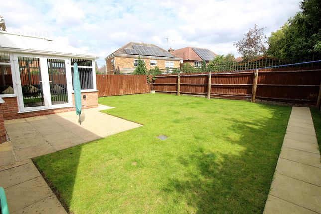 Garden of Kingsdale Grove, Chellaston, Derby DE73