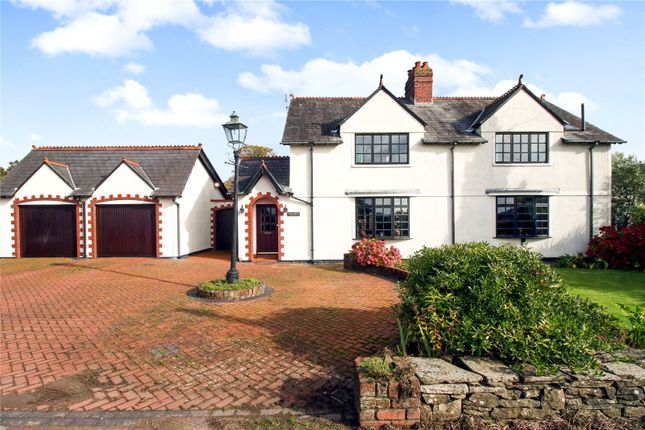 Thumbnail Link-detached house for sale in Coedkernew, Newport
