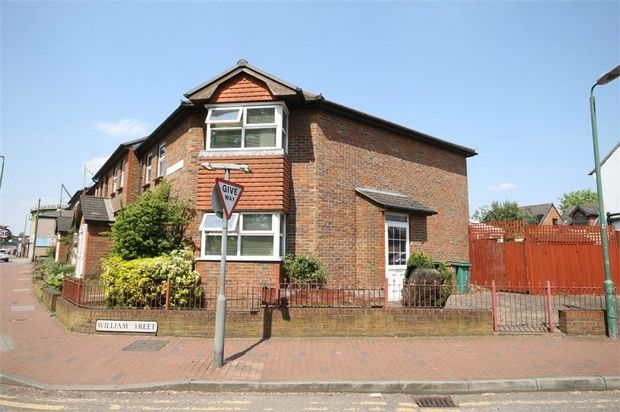 Thumbnail End terrace house for sale in Cricketers Terrace, Wrythe Lane, Carshalton