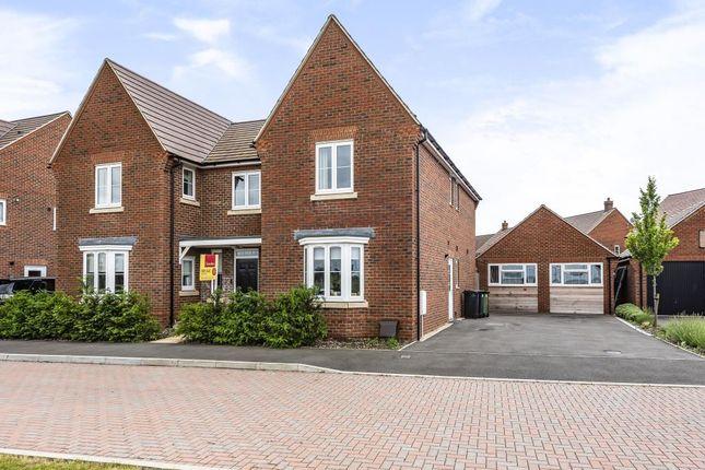 Thumbnail Detached house for sale in Steventon, Oxfordshire
