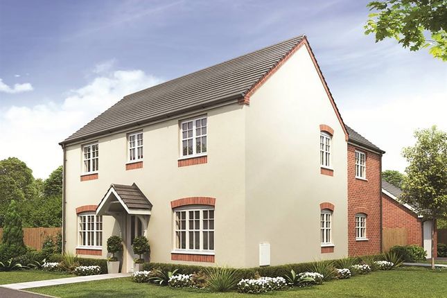 "Thumbnail Detached house for sale in ""The Ludlow"" at Eccleshall Road, Stone"