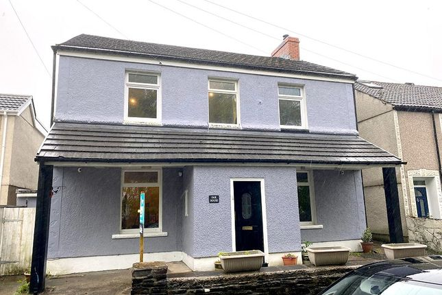 Thumbnail Detached house for sale in Henfaes Road, Tonna, Neath, Neath Port Talbot.