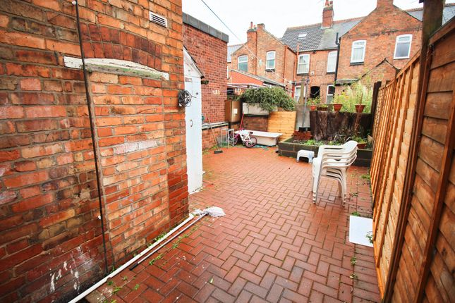 Garden of Woodland Road, Leicester LE5