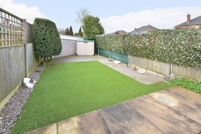 Garden of Ashcroft Road, Porthill, Newcastle Under Lyme ST5