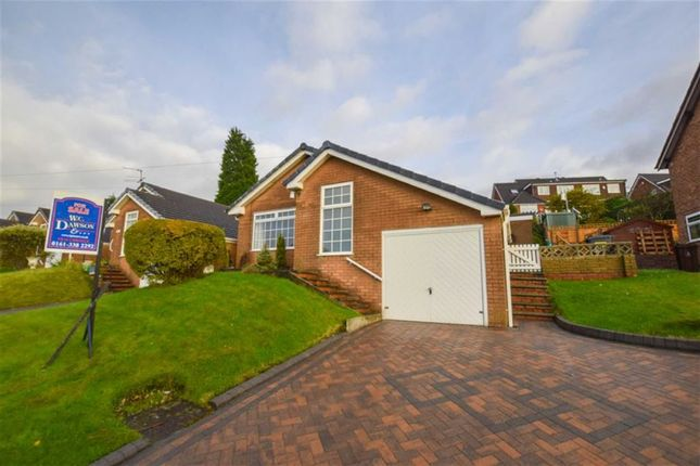Thumbnail Detached bungalow for sale in Broadhill Road, Stalybridge