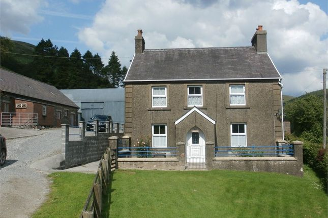 Thumbnail Farm for sale in Cwrt-Y-Cadno, Pumpsaint, Llanwrda