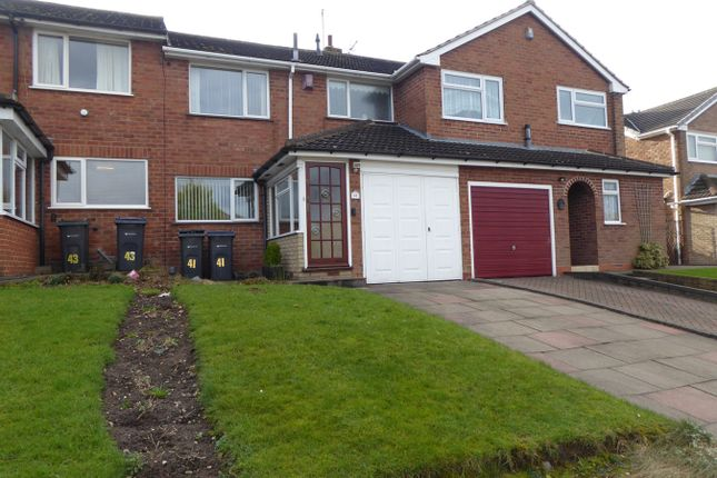 Thumbnail Terraced house for sale in The Crest, Northfield, Birmingham