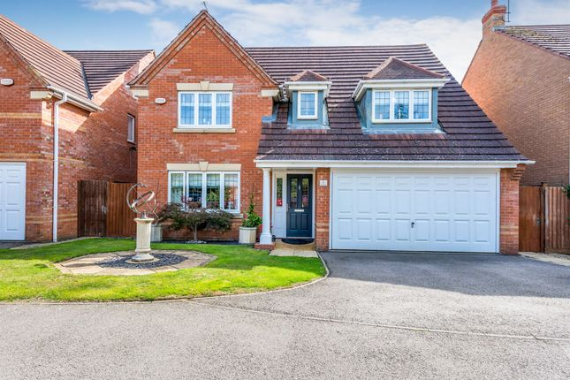 Thumbnail Detached house for sale in Villa Way, Wootton, Northampton