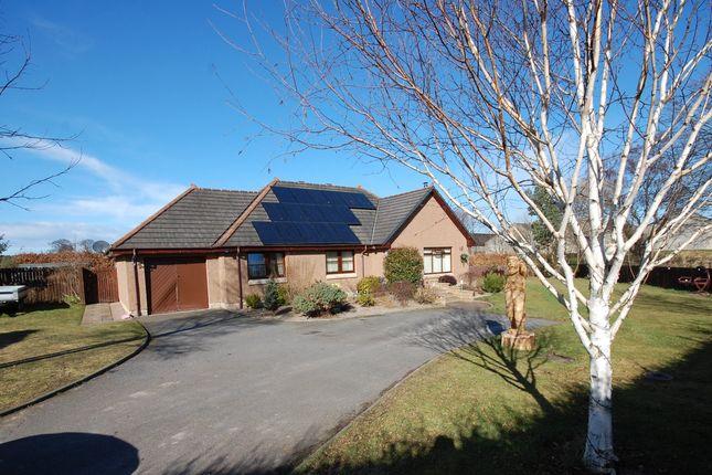 Thumbnail Detached bungalow for sale in Lithe Lochan, Longmorn, Elgin