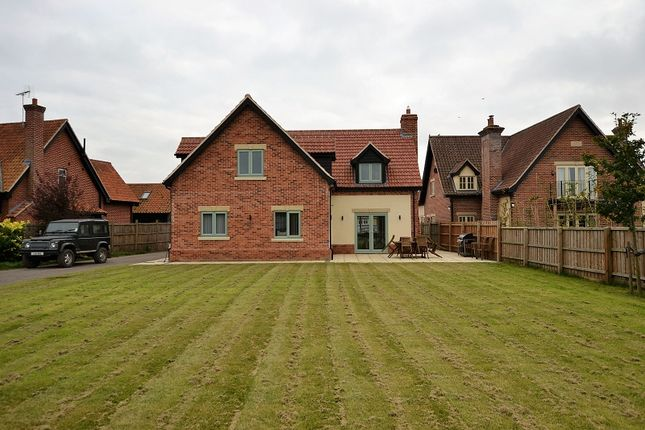 Thumbnail Detached house for sale in The Old Dairy Mews, East Harling, Norwich, Norfolk