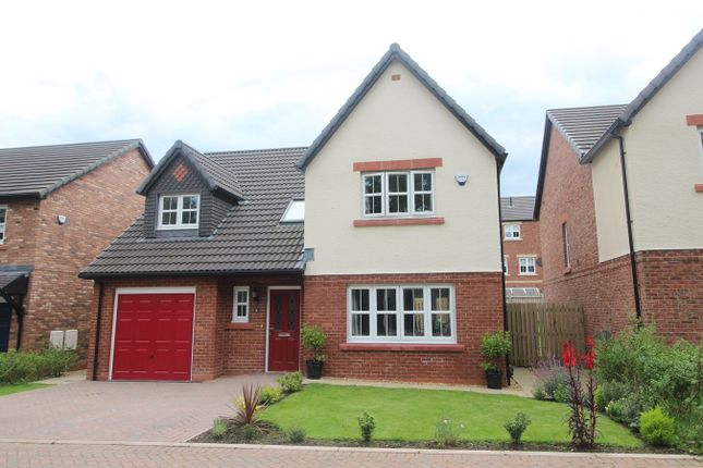 Thumbnail Detached house for sale in Hamilton Drive, The Ridings, Durdar, Carlisle