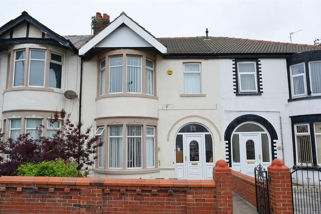 Thumbnail Terraced house for sale in Watson Road, Blackpool